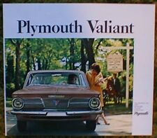 1964 1965 Plymouth Valiant Brochure lot 64 65