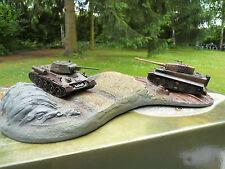 Corgi Military CC 61006 Diorama (2) Chars Tigre & T 34 /76 Very Rare