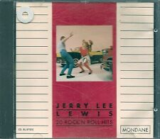 CD COMPIL 20 TITRES--JERRY LEE LEWIS--20 ROCK N ROLL HITS