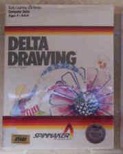 Delta Drawing 800/XL/XE Atari New Spinnaker Cartridge