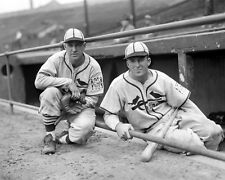 1939 St Louis Cardinals ENOS SLAUGHTER & TERRY MOORE Glossy 8x10 Photo Poster