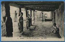 CPA TUNISIE -  GABES - Une Rue du Petit Djara