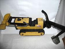 TONKA T 6 Caterpillar Bulldozer & back hoe
