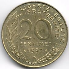 France :  20 Centimes 1997