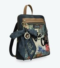 Anekke Couture Velvet Backpack Ladies Rucksack High Quality UK Stock