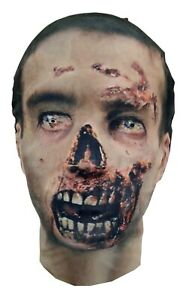 The TWD Zombie Style Mask - The Walking Dead - Parody - Costume - Full Head Mask