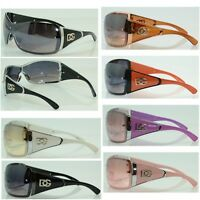 Unisex DG Eyewear Sunglasses Designer Shades Fashion Oversized Shield One Lens