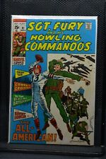 Sgt Fury and His Howling Commandos #81 Marvel Comic 1970 Stan Lee Dick Ayers 6.0