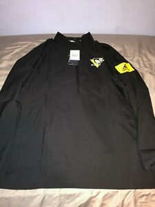 Pittsburgh Penguins Adidas GameMode Pullover NWT