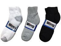 4 or 12 Pairs Mens Low Cut Socks Sport Ankle Cotton Solid Color 1 Dozen Pack