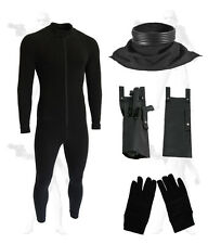 body suit neck seal gloves & e11 holster bundle compatible stormtrooper costume