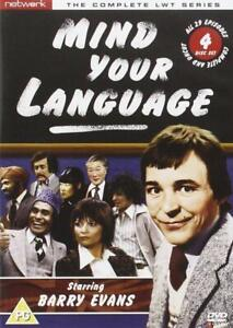 MIND YOUR LANGUAGE COMPLETE SERIES BARRY EVANS dvd UK RELEASE FACTORY SEALED