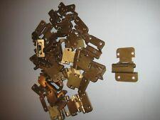 Lot of 29 Amerock 7553-5 Cabinet Door Wrap Frame Hinges Self Close Brass