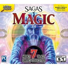 Viva Media Sagas of Magic - PC Hidden Object Game - New