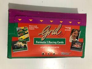 1992 grid formula 1 trading cards box 24 sealed packs michael schumacher rookie