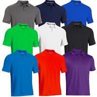 Under Armour Mens UA Medal Play 2.0 Performance Golf Polo Shirt