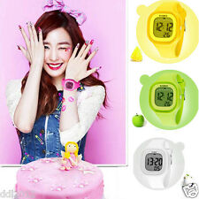 Women's Girls LED Light Digital Waterproof Watches Silicone Sport Wrist Watches