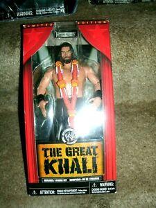 WWE JAKKS LIMITED THE GREAT KHALI FIGURE SEALED IN THE ORIGINAL PACKAGE