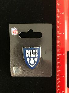 NEW Indianapolis Colts Shield Logo Lapel Pin - NFL Licensed - Baltimore