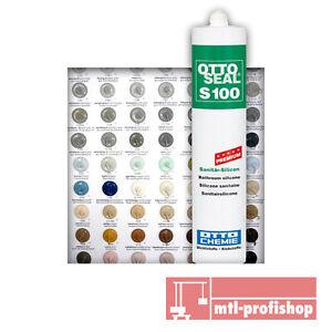 Ottoseal Otto Chemie S100 Silicon viele Farben Bad Silikon Fuge Sanitär