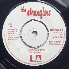 THE STRANGLERS London Lady / Get A Grip VINYL SINGLE Original 1977 UK Issue