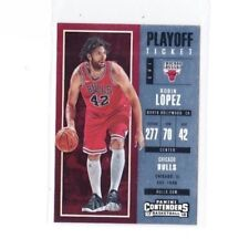 2017-18 PANINI CONTENDERS ROBIN LOPEZ PLAYOFF TICKET CARD