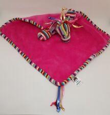 Doudou plat cheval rose fushia rubans multicolore pony horse pink JELLYCAT NEUF