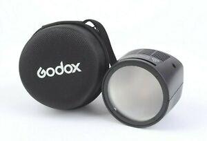Godox Witstro H200R Round Flash Head for AD200 Pocket Flash + Case #MAP-USEDRC