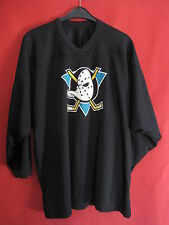 Maillot Hockey Mighty Ducks d'Anaheim Vintage CCM Ice Jersey Noir - XL