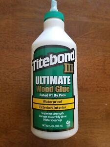 TITEBOND III Ultimate Wood Glue, 32 Oz
