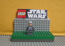"STAR WARS LEGO  LOT  MINIFIGURE--MINIFIG  "" GENERAL  VEERS ---8129 W/SMILE  """