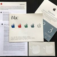 Early iMac Computer Setup Installation Foldout Guide Apple 2000 Original Papers