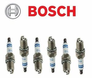 6 OEM BOSCH 6726 SPARK PLUGS FINE WIRE PLATINUM 0242230572 Set of 6