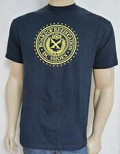 DC Shoes Board Of Re-Education Navy Blue 100% Cotton T-Shirt New NWT Mens Medium