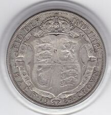 1924   King  George  V   Half  Crown  (2/6d) -  Silver  Coin