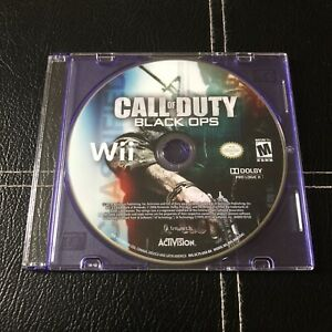 Call of Duty: Black Ops 1 (Nintendo Wii Game 2010) Disc Only, Tested/Working
