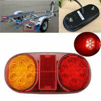 12V Car Truck Trailer Boat LED Tail Lights Stop Indicator Lamps Waterproof