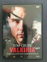 DVD VALKIRIA Tom Cruise Kenneth Branagh Bill Nighy Tom Wilkinson BRYAN SINGER