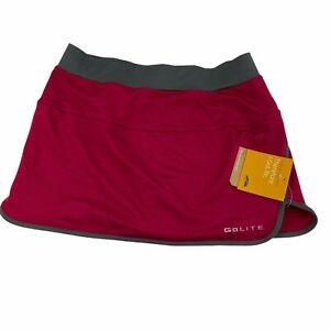 "Golite Tilly Jane 13"" Run Running Skirt Skort Size Small Pink NWT Tennis Golf"