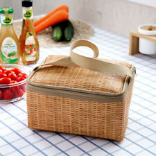 Insulated Thermal Bag Portable Waterproof Cooler Storage Food Picnic Lunch Box