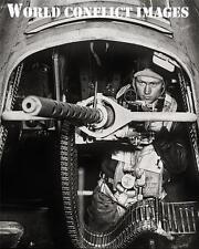 USAAF WW2 B-17 Bomber Radio Gunner's Position #2 8x10 Photo WWII