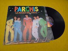 Parchis – La Magia Del Circo (VG/EX) Mexico Latin, Pop 1982 LP ç