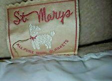 100 Wool Blankets For Sale Ebay