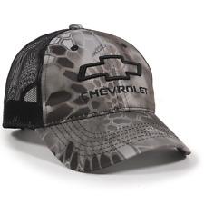 Chevrolet Kryptek Raid Mesh Back Camo Cap Chevy Trucker Hat Baseball Cap e38c0925b255