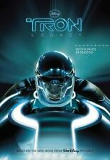 Tron the Junior Novel, Based on the New Disney Movie, (2010) 8 Pages of Photos