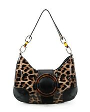LeahWard Women's Patent Leopard Print Shoulder Bags Quality Handbags Holiday