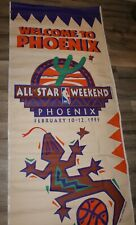 """1995 Phoenix Suns NBA All Star Game Weekend Banner 36"""" by 116"""" Sprite"""