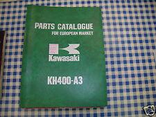 BB 99997-669 catalogue pièces de rechange KAWASAKI KH400-A3 ediz. 1977