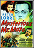 Mysterious Mr Moto FRIDGE MAGNET 6x8 Peter Lorre Movies Poster Canvas Print