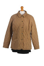 BARBOUR Duracotton Quilt Coat Jacket Vintage Color Beige Chest 46'' BR475